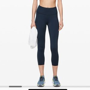 Lululemon Fast and Free High-Rise Crop II 23""